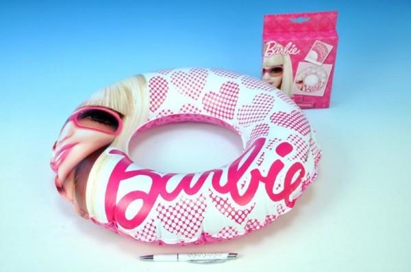 Teddies Kruh nafukovací Barbie 41cm v krabičce