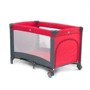 Dětská cestovní postýlka QX -805 - tm. červená