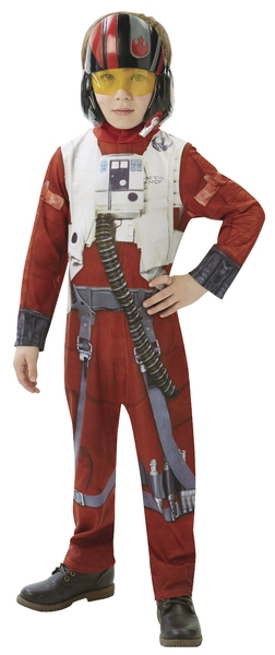 Karnevalový kostým STAR WARS Epizoda 7 X-Wing Fighter Pilot -...