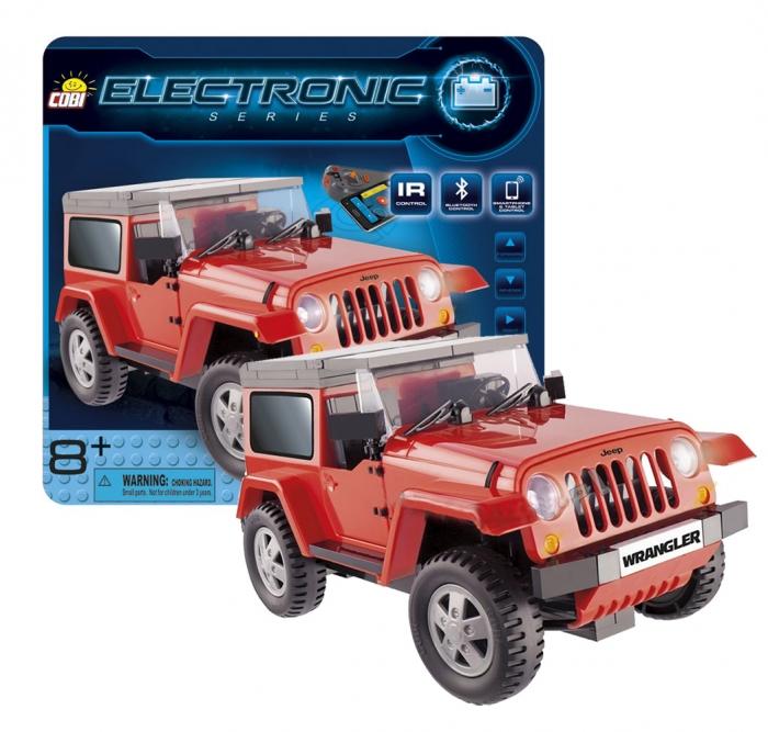 Auto na dálkové ovládání Electronic JEEP WRANGLER (I/R a Blue...