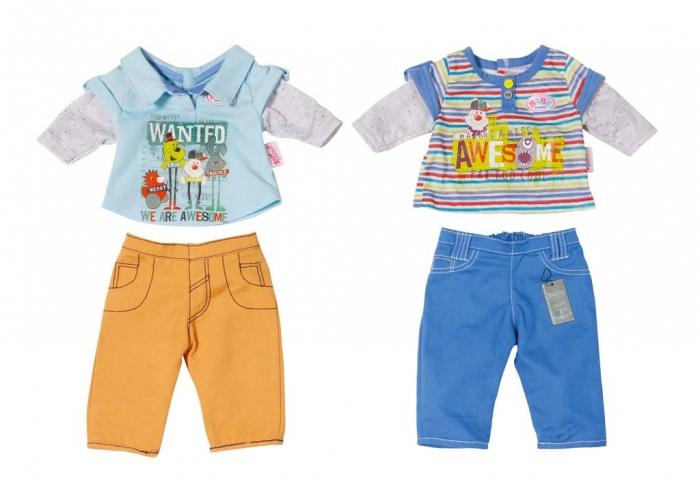 BABY born oblečení pro chlapečka, 2 druhy