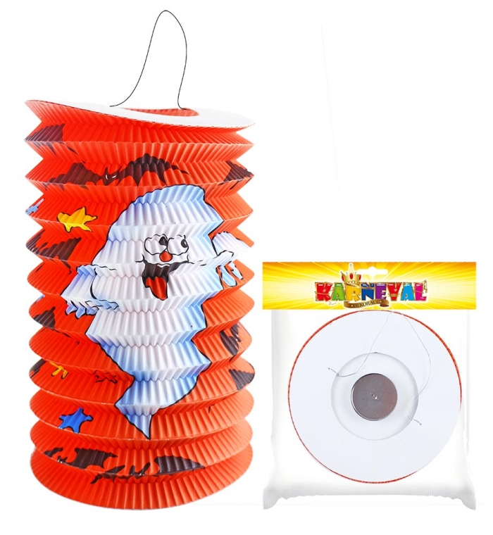 Lampion s duchem Halloween, 15 cm