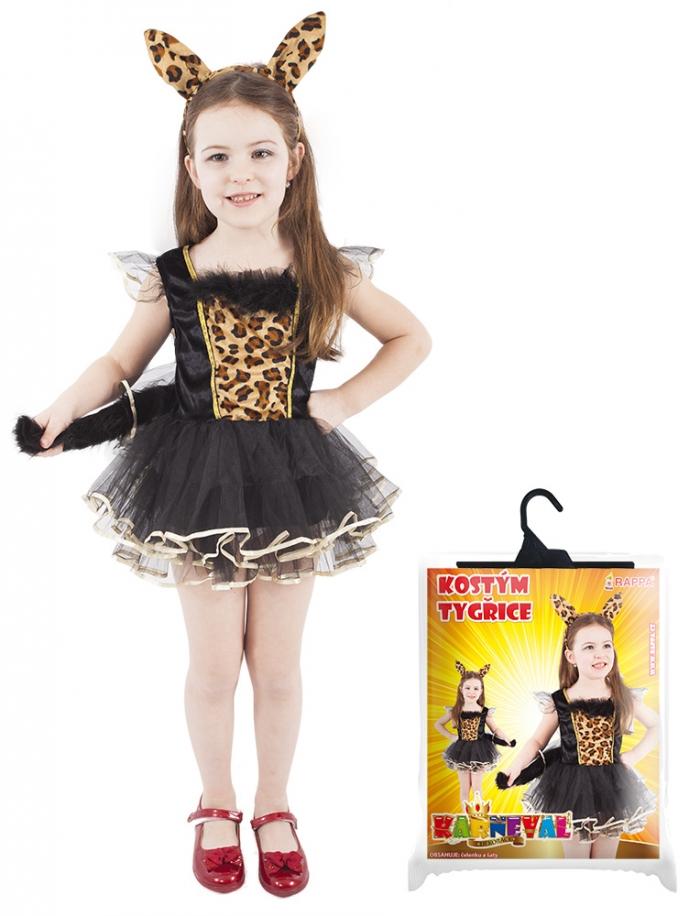 Karnevalový kostým tygřice,vel. L