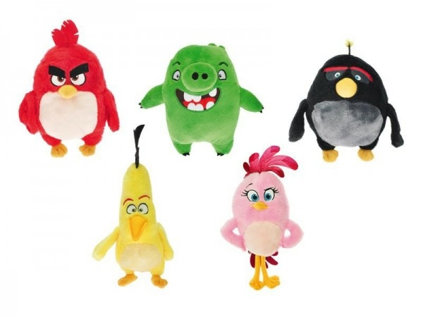 Angry Birds Movie 2016 plyš 18-24cm asst 5 druhů 10m+