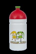 Zdravá láhev - 0.5l - Kouzelná školka, bílá