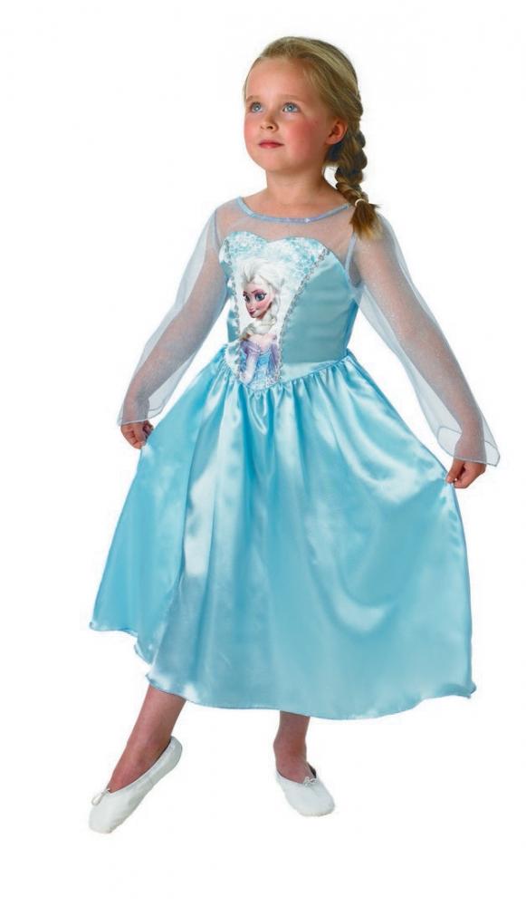 Karnevalový kostým FROZEN - Ledové království ELSA, 5-6 let