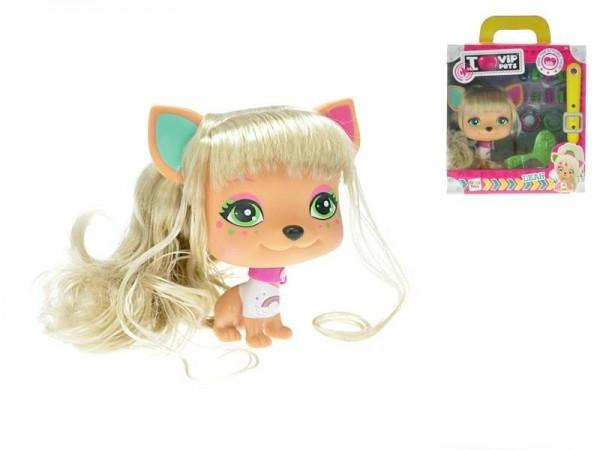 Mazlíček Leah VIP PETS 2. série 11cm s doplňky v krabičce
