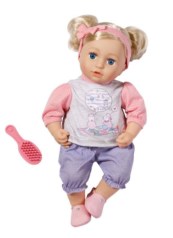 Panenka Sophia s vlásky Baby Annabell