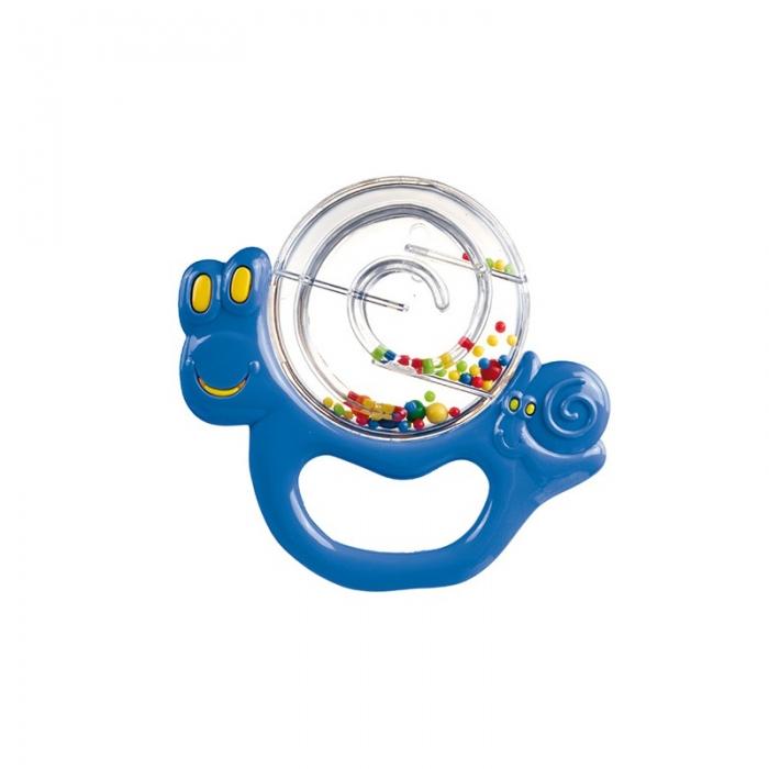 Chrastítko Šnek Canpol Babies - modrý