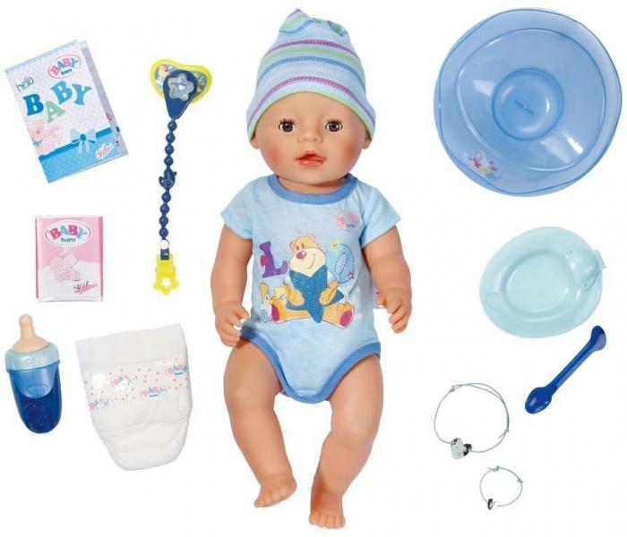 Panenka BABY born interaktivní chlapec