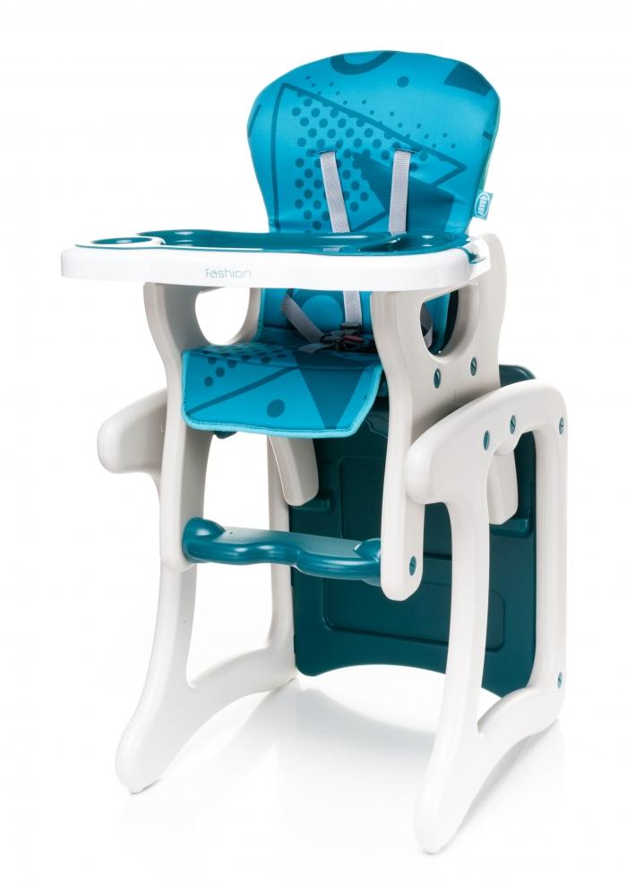 Jídelní stoleček tyrkys