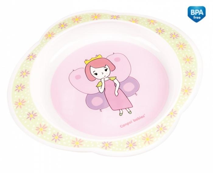 Talířek Canpol Babies -Víla - růžový