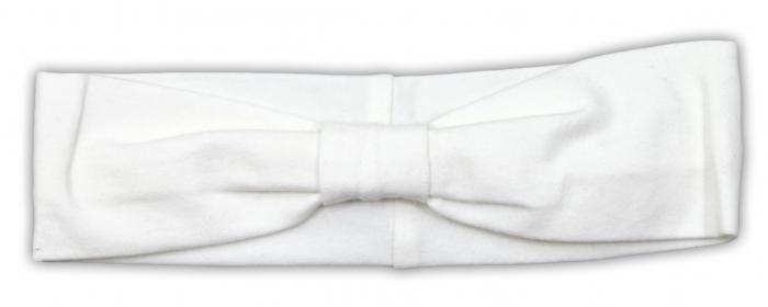 Čelenka NICOL PŘÁTELÉ - BIO bavlna - smetanová