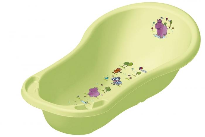 Dětská vanička Hippo 100 cm - Limetka