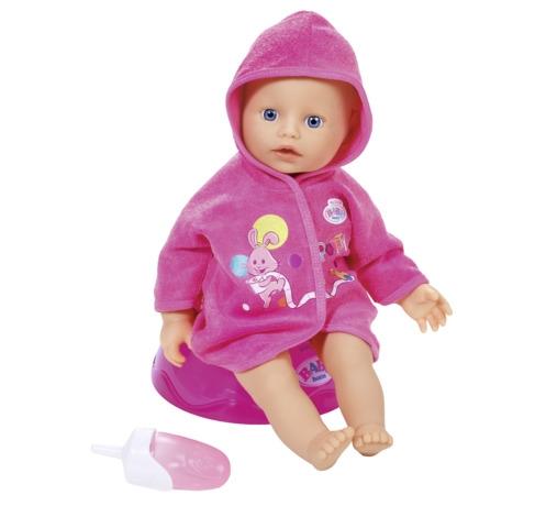 My Little BABY born panenka, Učím se na nočník