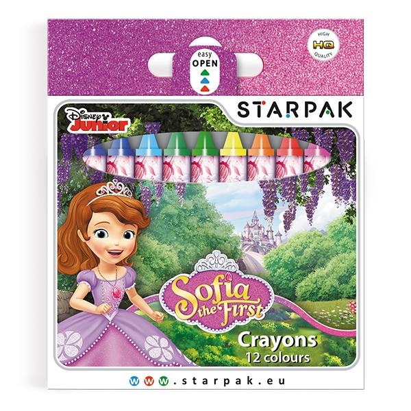 Voskovky Sofie První, 12 barev