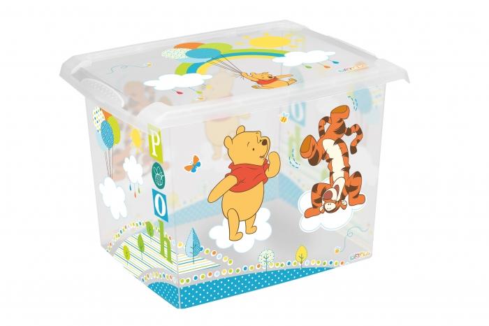 Box na hračky, dekorační Medvídek PÚ - 20,5 l