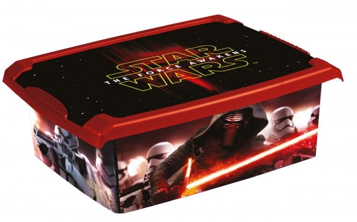 Box Star Wars 10 l - černý