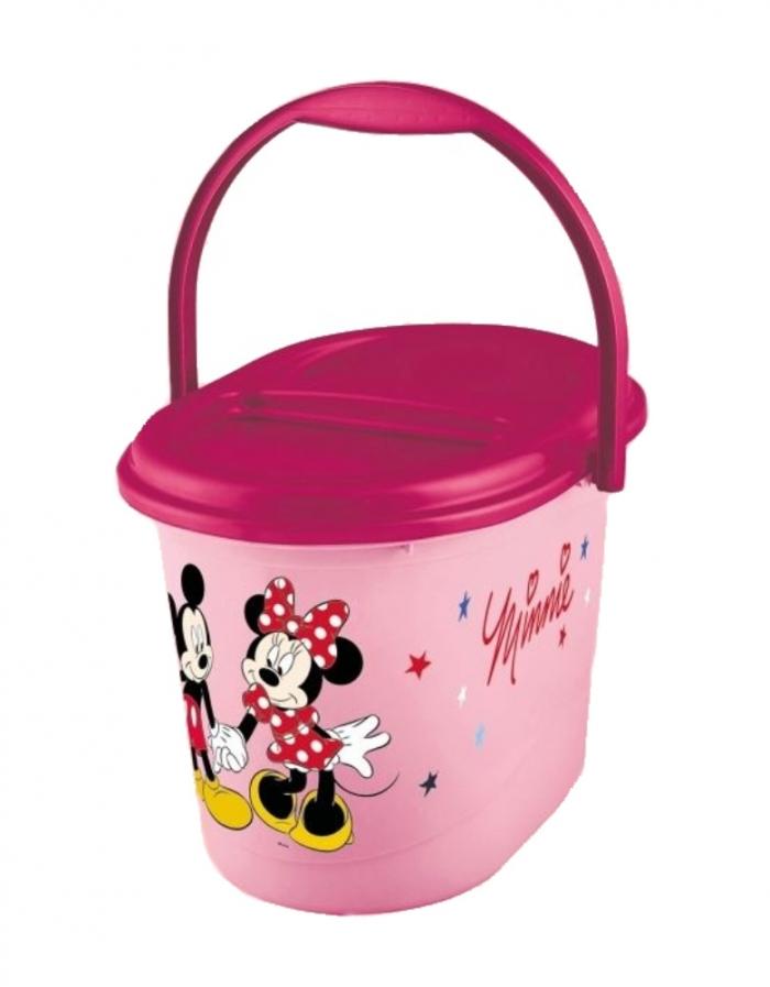 Kbelík na plenky Minnie - růžový
