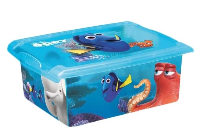 Box Hledá se Dory 10 l - modrý