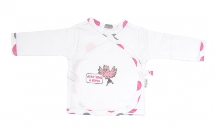 Novorozenecká košilka Mamatti - Ptáček