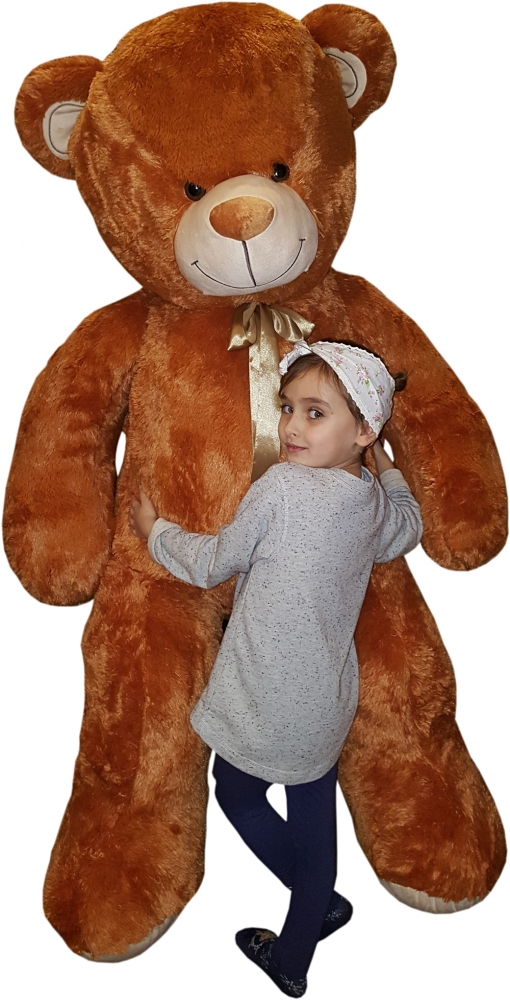 Plyšový Medvěd XXL Baby Nellys 180cm - béžový