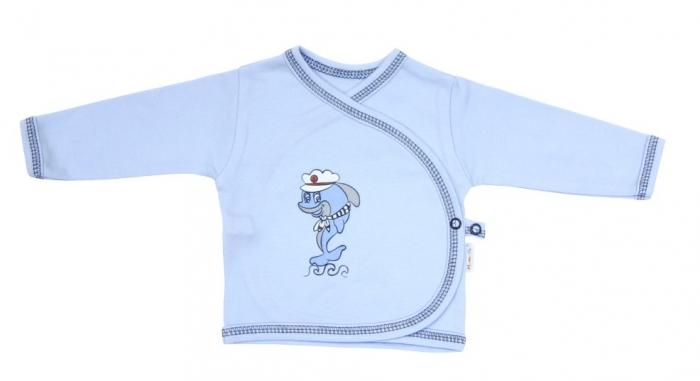 Novorozenecká košilka Mamatti - Delfín