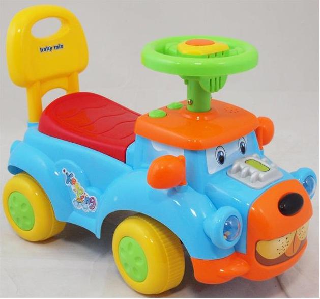 Dětské jezdítko Baby Mix se zvukem - pejsek