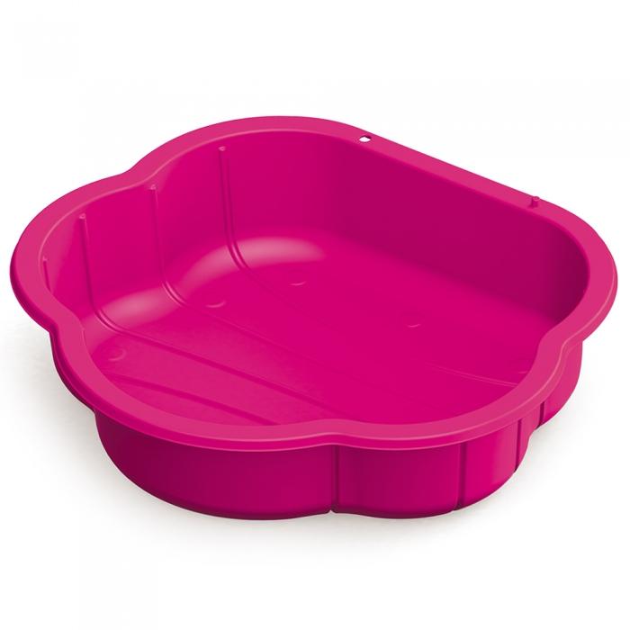 Pískoviště, bazének s krytem - růžové