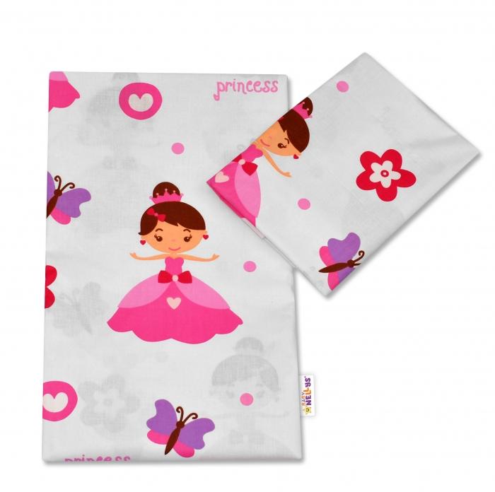 Bavlněné povlečení Baby Nellys ®- Princezna Heli, 135x100