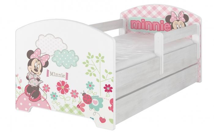 Dětská postel Disney s šuplíkem - Minnie
