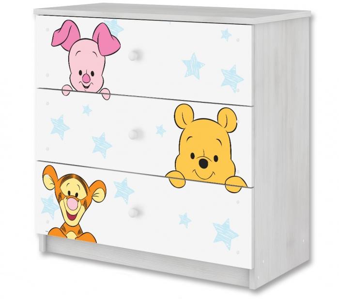 Disney dětská komoda - Baby Medvídek PÚ