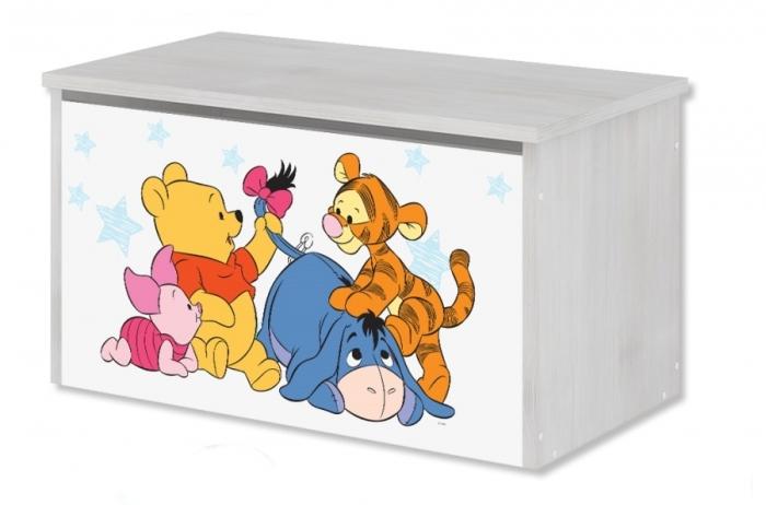 Box na hračky, truhla Disney - Medvídek PÚ Baby