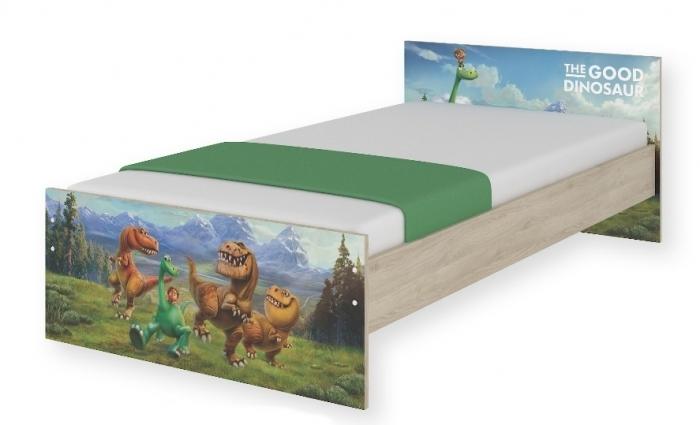 Dětská junior postel Disney 180x90cm - Dinosaurus