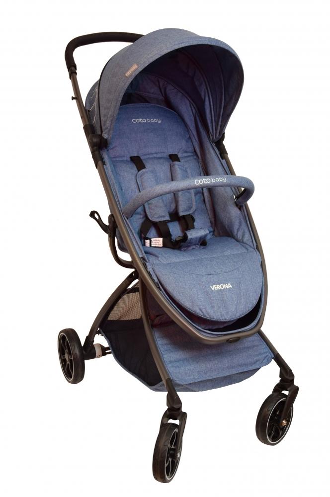 Coto Baby Kočárek VERONA Comfort Line - Jeans