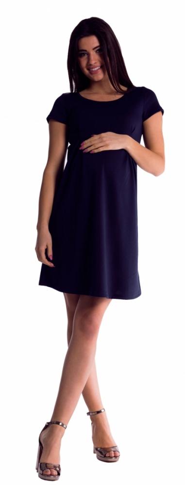 Těhotenské šaty - granát
