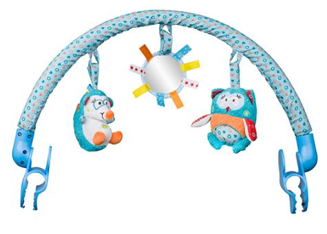 Oblouk s hračkami BABY ONO - Charlie a Hannah