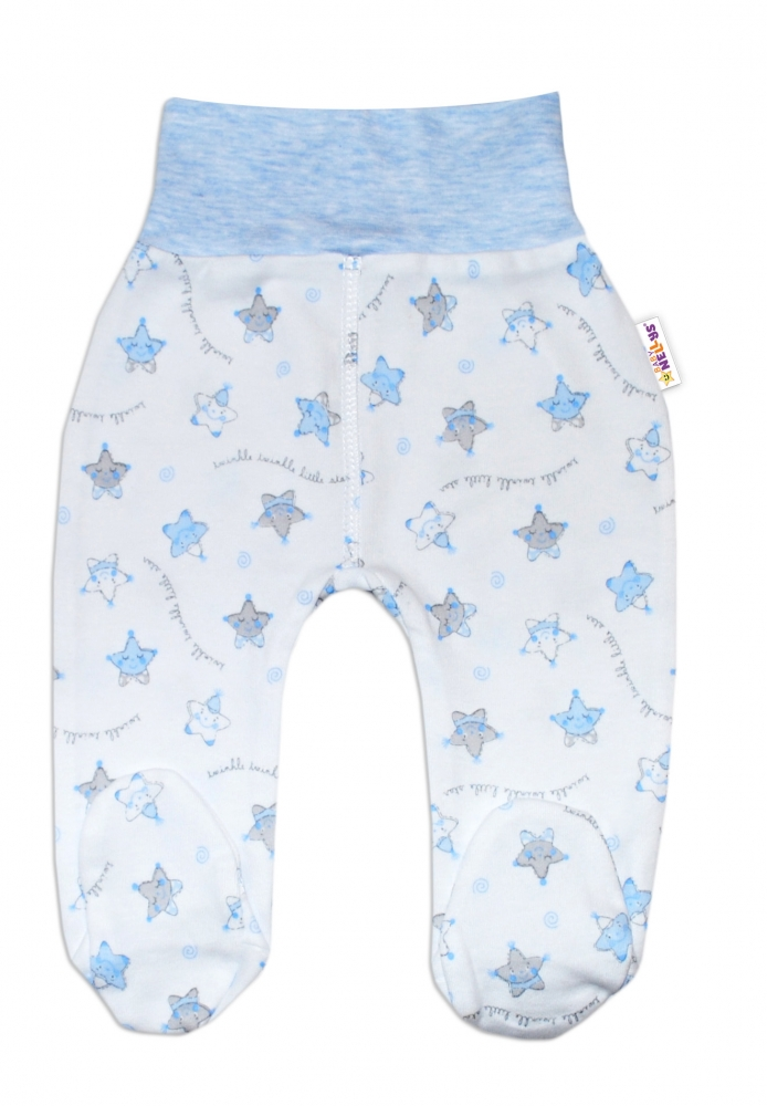 Polodupačky pro předčasně narozená miminka Baby Nellys ® - Hvězdičky modré