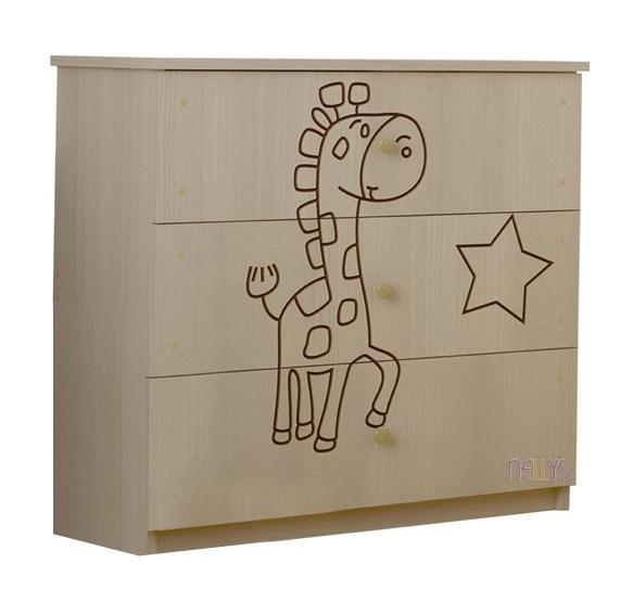 Dětská komoda - Žirafka