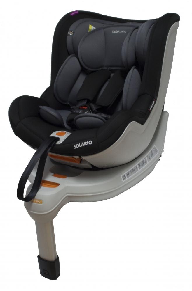 Autosedačka Solario 2017 - 0-18 kg - šedá