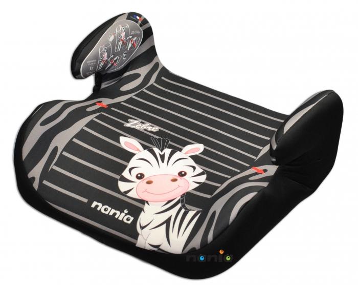 Autosedačka - podsedák Nania TOPO - Zebra