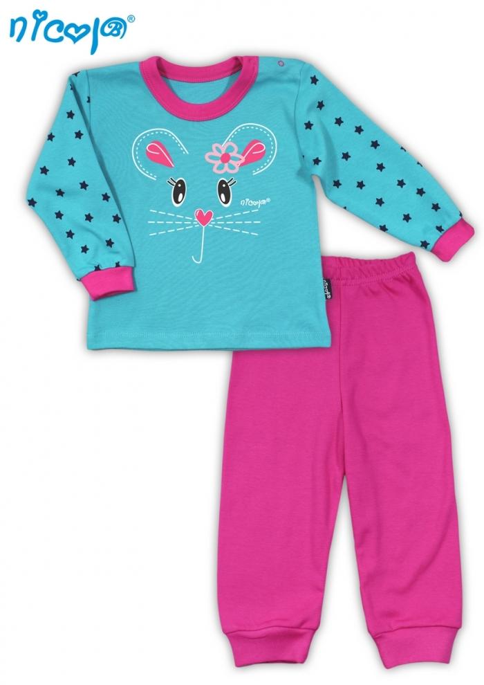 Bavlněné pyžamko NICOL MYŠKA