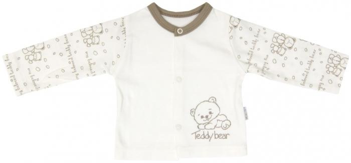Bavlněná košilka zapínání středem Mamatti Baby Bear TEDDY