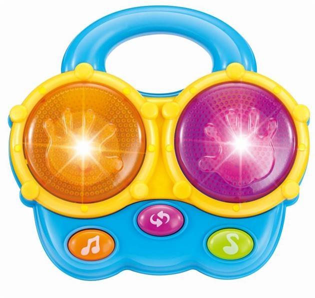 BABY MIX Edukační hračka se zvukem - Bubínek