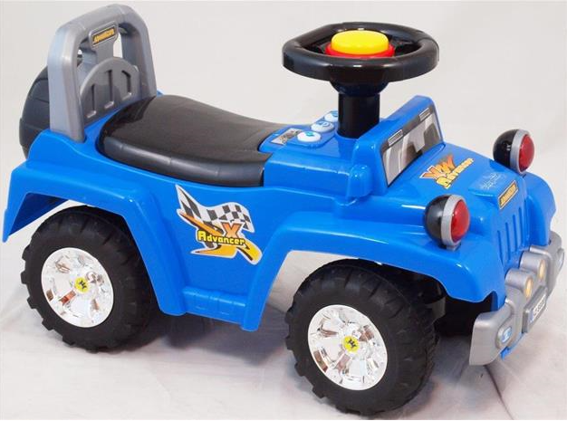 Dětské jezdítko Baby Mix se zvukem - modré