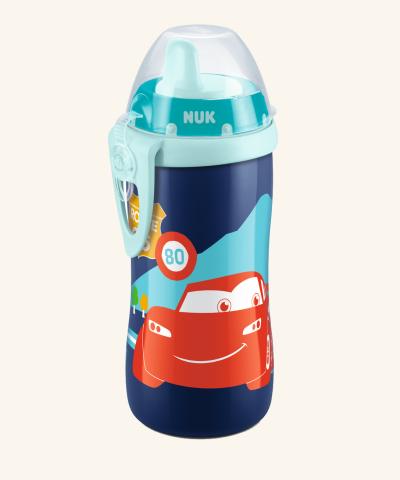 Lahvička NUK KIDDY CUP 300 ml - Disney Cars