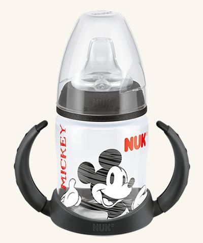 Hrneček NUK First Choice Mickey - černý - 150 ml