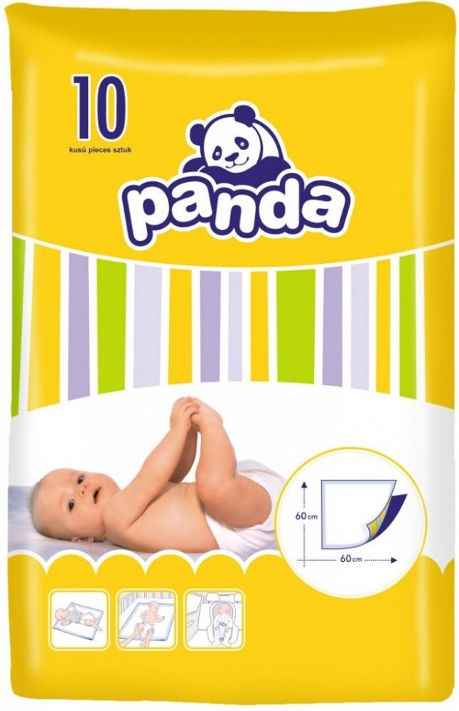 Přebalovací podložky Panda Bella 60x60 cm -10 ks