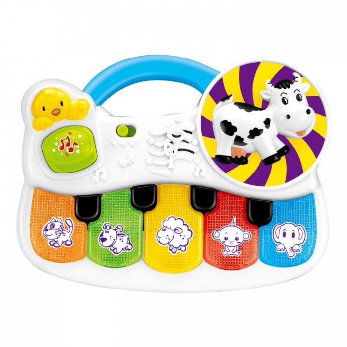 Interaktivní hračka s melodii Hrající zvířatka