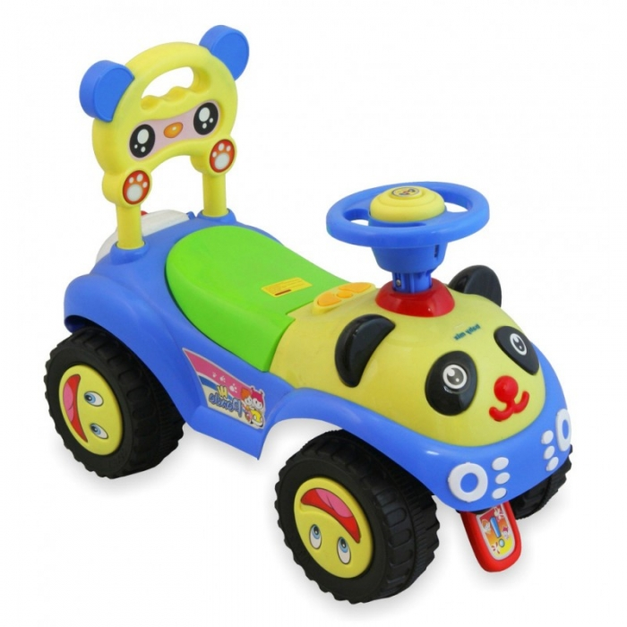 Dětské jezdítko Baby Mix Panda - modrá